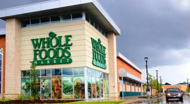 A Whole Foods Market in Markham, Ontario. Amazon.com announced Friday it will acquire Whole Foods Market inc. in a $13.7 billion takeover. Photo by ChazPerez49/Wikipedia