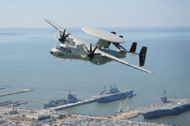 Northrop Grumman awarded $3.2B for 24 Hawkeye early warning aircraft for Navy