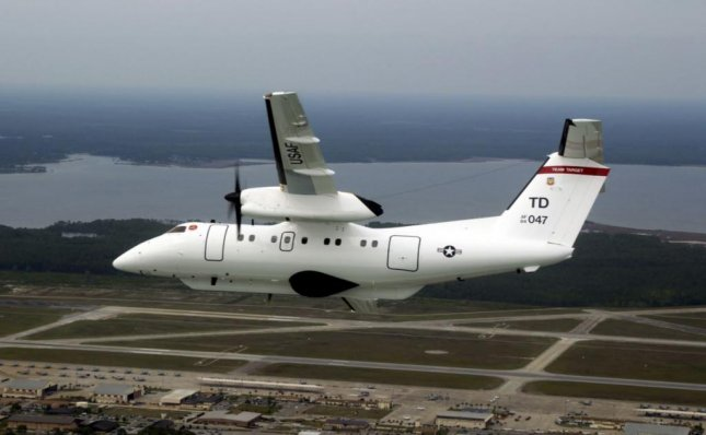 Use of the E-9A surveillance plane, known as the Widget, was a crucial factor in the success of the 11-day Weapon System Evaluation Program at Tyndall Air Force Base, Fla., officials said. Photo by Sgt. Michael Ammons/USAF