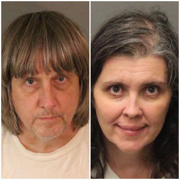 David Allen Turpin, 57, and Louise Anna Turpin, 49, face torture and child endangerment charges. Photo by Riverside County Sheriff's Department