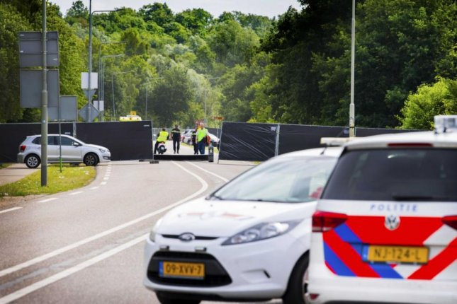 Van crashes into fans at Dutch festival