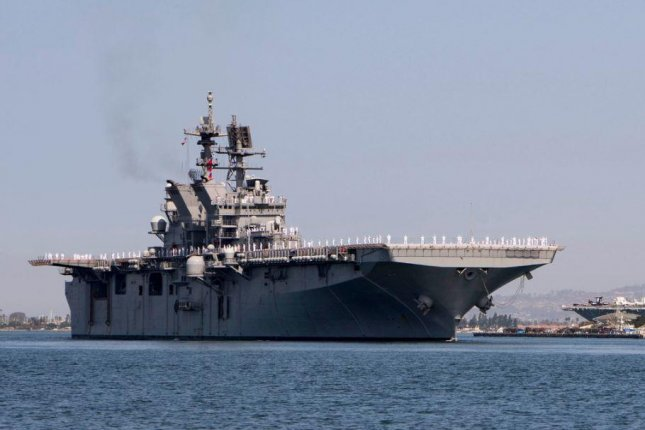 The Naval Sea Systems Command announced on Wednesday that the amphibious assault ship USS Tripoli concluded its Fitting Out Availability. Photo by MCS1 Woody Paschall/U.S. Navy