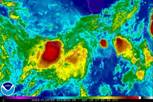 Tropical storm Max forms off Mexico's Pacific coast