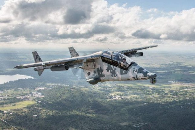 The Mwari, a new ISR aircraft launched by the Paramount Group of South Africa. Photo courtesy Paramount Group