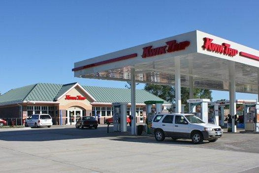 A Wisconsin man was cited for theft after he drank beer while locked overnight in a Kwik Trip store's beer cooler. Photo by Minnun1456/Wikimedia Commons