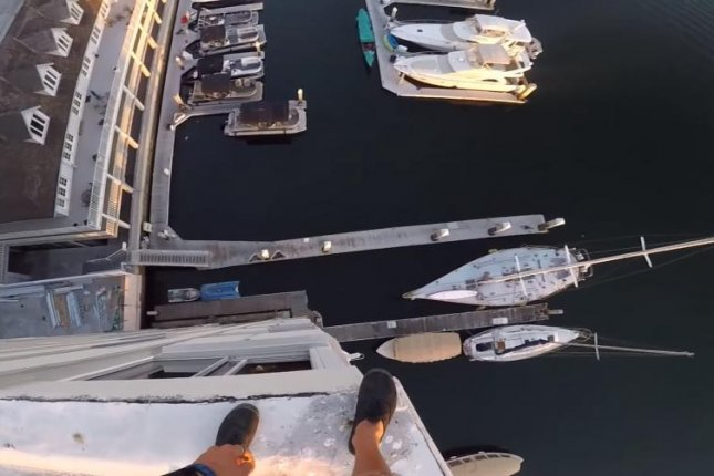 Daredevil YouTuber jumps from top of building into California harbor