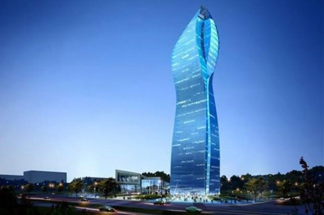 SOCAR headquarters in Baku. The Azeri energy company said it navigated through the oil market crisis relatively unscathed. Photo courtesy of SOCAR