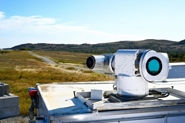 The Air Force tested the ATHENA laser weapon recently, connected it to a government radar system to successfully bring down multiple drones. Photo courtesy of Lockheed Martin