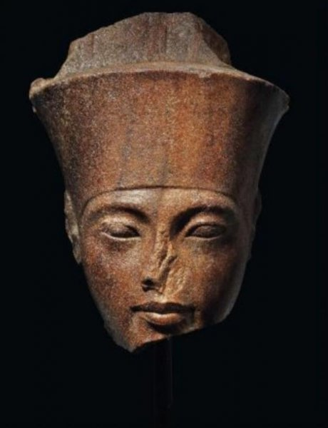 The quartzite statue of King Tutankhamun dates to between 1332 to 1323 B.C. File Photo courtesy of Christie's