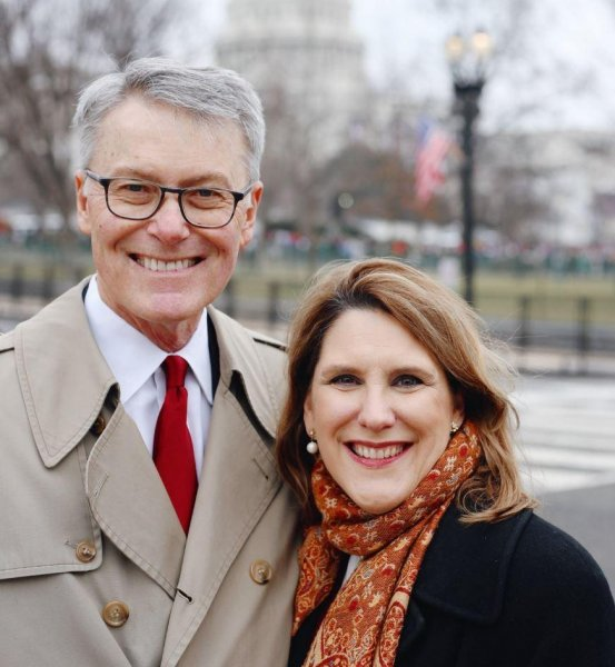 Charmaine Yoest (R), former president of the Americans United for Life anti-abortion group, seen alongside her husband John Wesley Yoest, Jr., has been chosen by President Donald Trump to serve as assistant secretary of public affairs at the Department of Health and Human Services. Photo courtesy of Charmaine Yoest