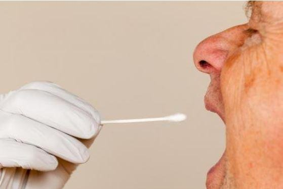A saliva test has been developed that can better detect prostate cancer in men with a greater risk of the disease. Photo by Steve Heap/Shutterstock