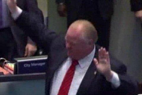 Toronto Mayor Rob Ford (Credit: Screenshot via KDAF/CTV)