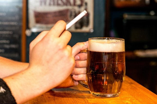 Researchers are unsure why smoking increases the chances that an alcoholic will relapse, but they say it is another good reason to quit. Photo by Pe3k/Shutterstock
