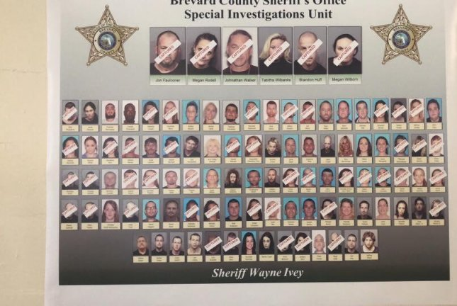 Police arrest more than 100 in central Florida drug bust - UPI com