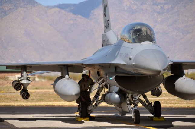 Egypt's government first ordered the Lockheed Martin F-16s in 2006. U.S. Air National Guard photo by Master Sgt. Andrew J. Moseley