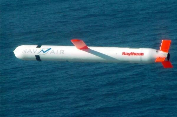 The 59 missiles launched into Syria on Thursday night were Tomahawk Block IV cruise missiles, which include the ability engage time-sensitive targets and be reprogrammed by operators mid-flight. Photo courtesy Raytheon