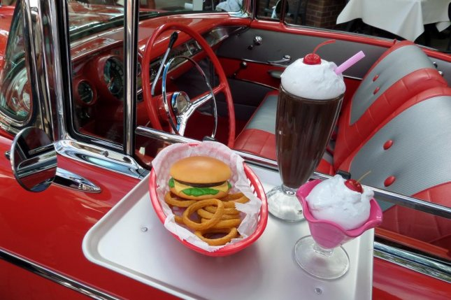 A meal of cheeseburger, onion rings and a sundae isn't healthy, but one high-fat milkshake for the first time can start people on the road to heart disease, according to a study. Photo by Geordie/Pixabay