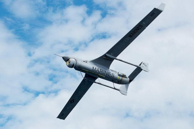 Insitu's RQ-21A drone weighs 81 pounds and its length is 8.2 feet. Photo courtesy of Boeing