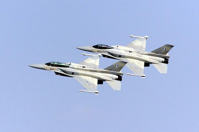Greece plans on modernizing its F-16 Fighting Falcon aircraft. Photo courtesy Lockheed Martin Tactical Aircraft Systems