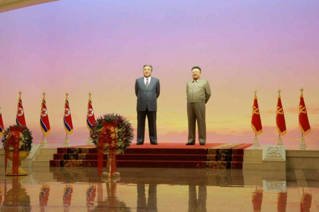 North Korea is planning to renovate the Kumsusan Palace of the Sun in Pyongyang, where former leaders Kim Il Sung and Kim Jong Il are emtombed. File Photo by Rodong Sinmun