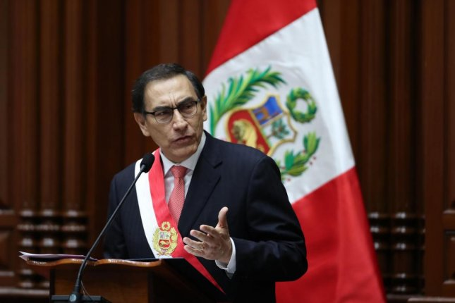 Martin Vizcarra, businessman and one-term governor, became the new president of Peru on Friday, as he was sworn in in Lima. Photo by Ernesto Arias/European Pressphoto Agency