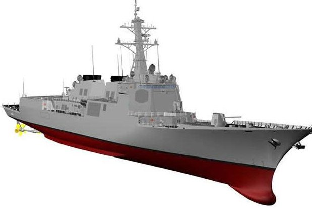 South Korea is moving forward with plans to build a next-generation 6,000-ton mini Aegis-class destroyer. Image courtesy of Republic of Korea Defense Acquisition Program Administration