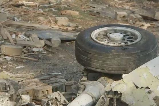 The National Transportation Safety Board determined Tuesday that the flight crew's mismanagement of the approach and deviations from standard operating procedures caused the crash of a on-demand charter flight in Akron, Ohio, on Nov. 10, 2015. Screenshot from ABC News