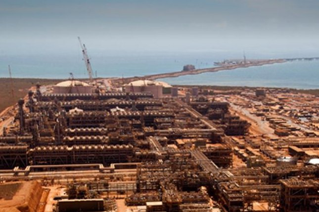 Chevron announces the start up of its giant Gorgon liquefied natural gas project in Australia, touting it as its door to the markets of the Asia-Pacific. Photo courtesy of Chevron