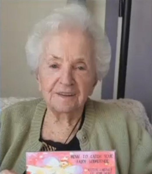 A Virginia woman decided to celebrate her 100th birthday by performing a pole dance. In addition to her dance Beatrice Ingerling, also known as Grandy or Queen Bea, received gifts in the mail from family members and strangers over the course of 100 days.  Screen capture/WWBT
