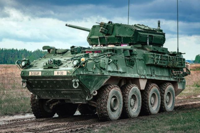 Alliant Technosystems Operations received a $37.6 million contract for upgrades to cannons on the Stryker Medium Caliber Weapon System, the Defense Department announced. Photo courtesy of U.S. Army