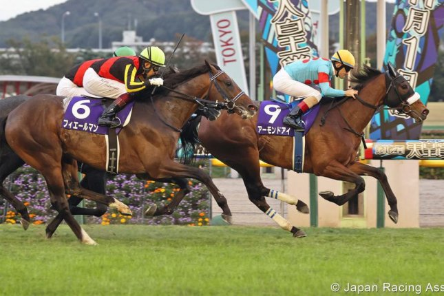 Almond Eye chalks up another record winning Sunday's Grade 1 Tenno Sho (Autumn) at Tokyo Racecourse. Photo courtesy of Japan Racing Association