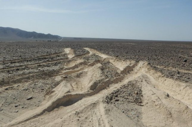 Trucker damaged part of Peru's prized Nazca lines