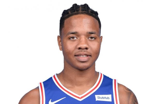 Philadelphia 76ers guard Markelle Fultz scored five points and had five assists in 24 minutes against the Miami Heat on Monday at AmericanAirlines Arena in Miami. Photo courtesy of the NBA