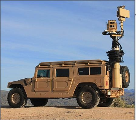 A Vehicle Mounted Surveillance System or VMSS, one of several surveillance systems the company manufactures. The Department of Defense reported a recent order from Egypt for the systems. Photo courtesy of STARA Technologies