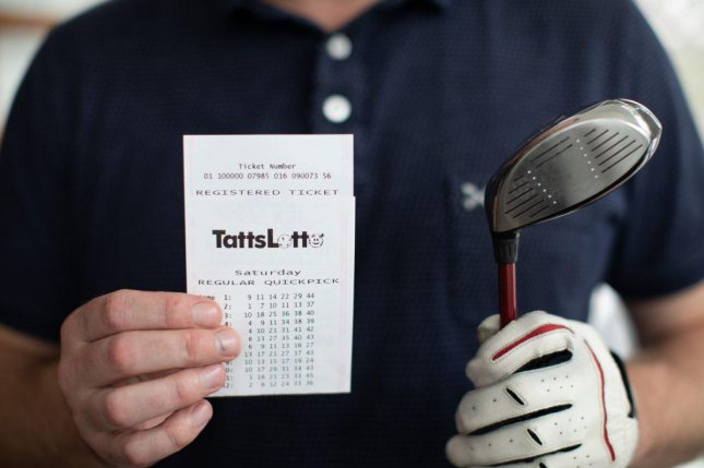 A pair of golfing buddies from Lara, Victoria, Australia, won more than $650,000 using a set of lottery numbers they got from a toy six or seven years earlier. Photo courtesy of The Lott