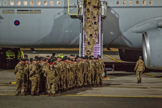 British troops were sent to Estonia to enhance NATO's forward presence in the region, according to defense ministry officials. Photo courtesy of the U.K. Ministry of Defense