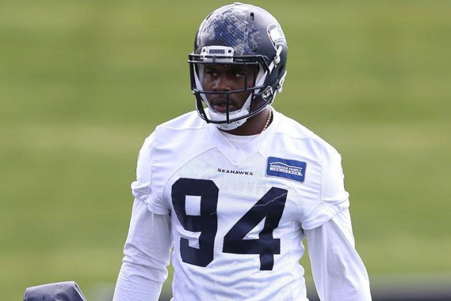 Seattle Seahawks defensive tackle Malik McDowell's rookie season appears to be in jeopardy after an ATV accident in July. Photo courtesy of Seattle Seahawks/Twitter