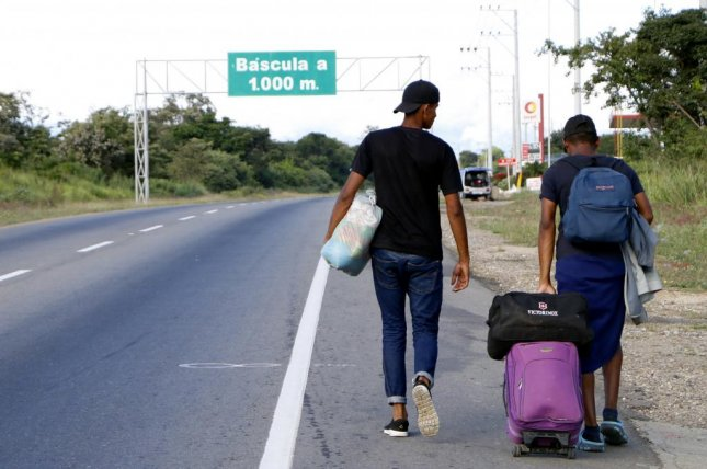 The U.S. government announced an increase in aid to Venezuelans who have migrated. File Photo by Schneyder Mendoza/EPA-EFE