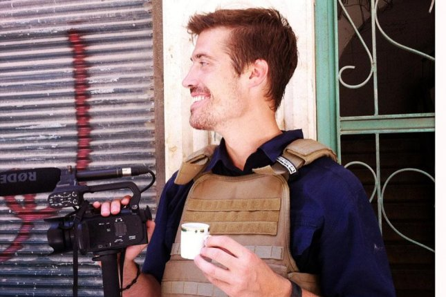 James Foley in Aleppo, Syria, in July 2012, four months before his kidnapping. (Free James Foley/Nicole Tung)