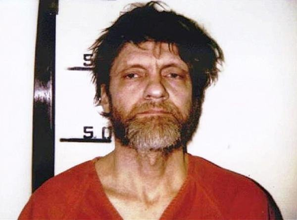 On April 3, 1996, the FBI raided a Montana cabin and arrested Theodore Kaczynski, a former college professor, accusing him of being the Unabomber whose mail bombs had killed three people and injured 23 since the 1970s. Photo courtesy FBI