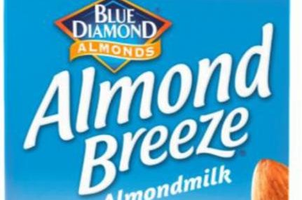 Almond milk recalled because it may contain actual milk