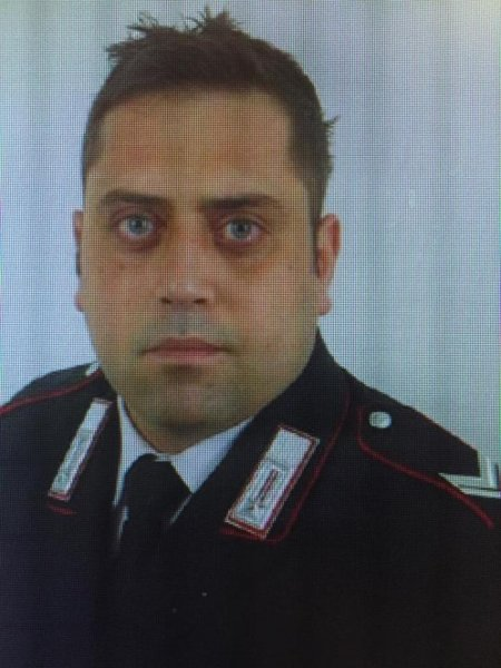 Brigadier Mario Cerciello Rega died Friday in Rome from a fatal stabbing in a hotel room after investigating a theft. Two U.S. tourists who confessed to the crime were arrested Saturday, Italian police said. Photo courtesy Caribinieri