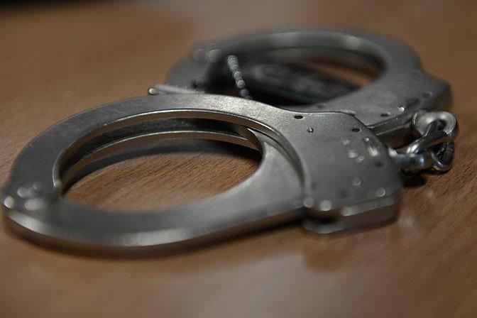 Handcuffs. (U.S. Air Force/Gustavo Castillo)