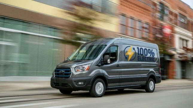 Ford unveils all-electric 2022 E-Transit cargo delivery van
