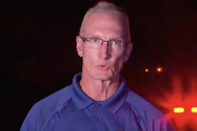 Rockingham County Emergency Services Director Rodney Cates spoke during a press conference on the missing, dead tubers late Thursday. Screenshot fromRockingham County Youtube.