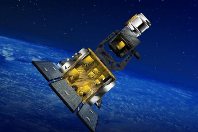 The space-based space surveillance satellite is meant to collect metric and Space Object Identification data for man-made orbiting objects without the disruptions encountered by Earth-based systems. Photo courtesy of Boeing
