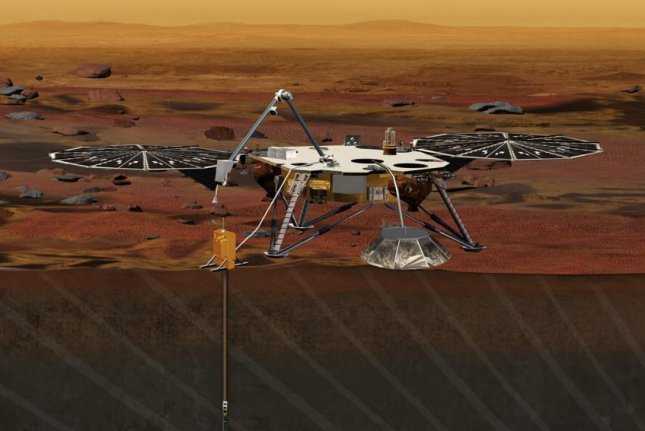 NASA's InSight probe, its newest Mars lander, is one of several missions slated to launch in 2018. Photo by NASA
