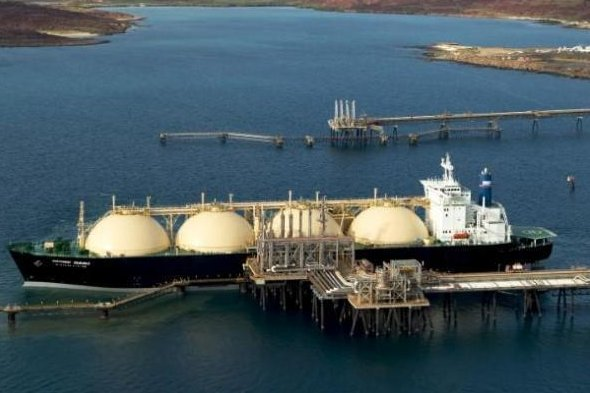 Australian consultant group EnergyQuest finds regional LNG production and exports are breaking records. Photo courtesy of Woodside Petroleum