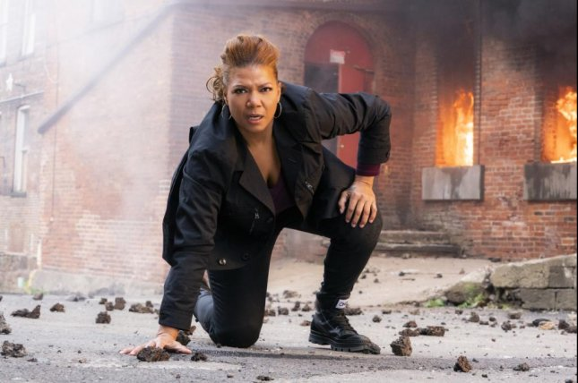 Queen Latifah stars in The Equalizer, which premieres Sunday on CBS after the Super Bowl. Photo courtesy of CBS