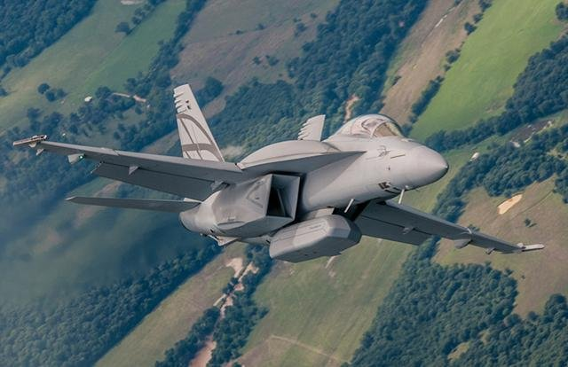 Boeing has contracted to design, develop and install upgrades to the F/A-18 series of aircraft for the U.S. Navy and several foreign customers. Photo courtesy of Boeing
